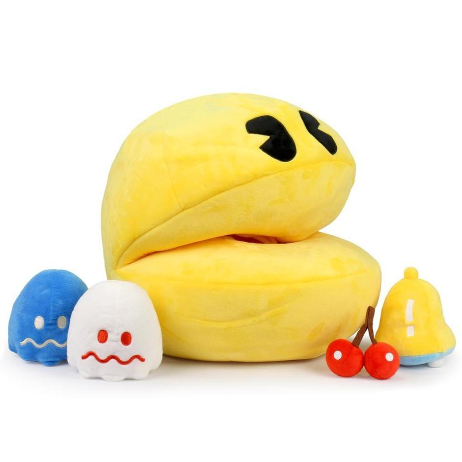 Hungry Pac-Man Large Interactive Sound Plush (Includes Plush Inserts) (1)