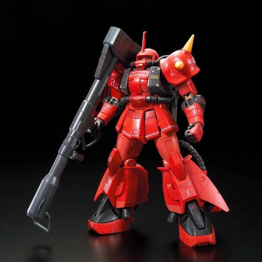Johnny Ridden's MS-06R-2 Zaku II High Mobility Type Mobile Suit Gundam MSV #26 RG 1144 Scale Model Kit (1)