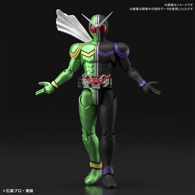 Kamen Rider W (Double) Cyclone Joker Figure-rise Standard Model Kit (1)