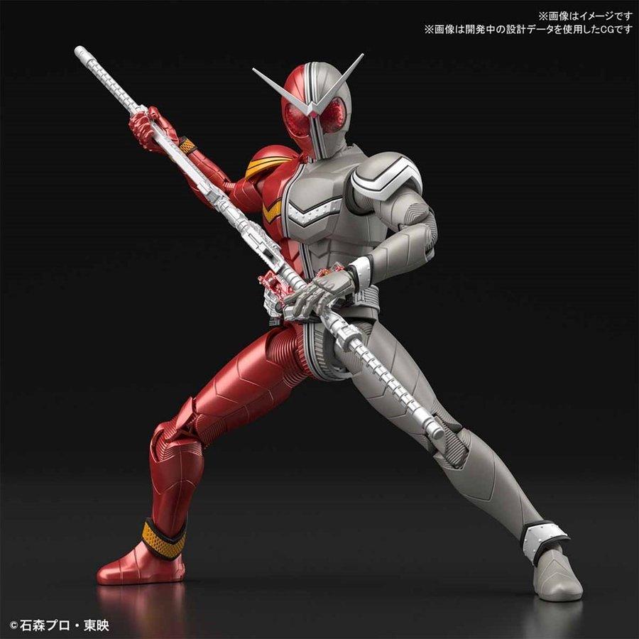 Kamen Rider W (Double) Heat Metal Figure-rise Standard Model Kit (1)