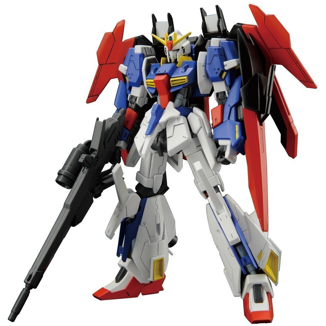 Lightning Z Gundam Gundam Build Fighters Try #40 HGBF 1144 Scale Model Kit (1)