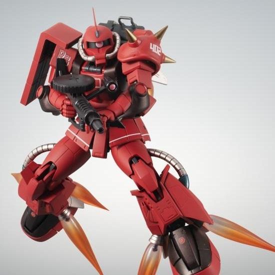 MS-06R-2 Zaku II (High Mobility Type) Johnny Ridden's Custom Model (Ver. A.N.I.M.E.) Robot Spirits Figure (1)