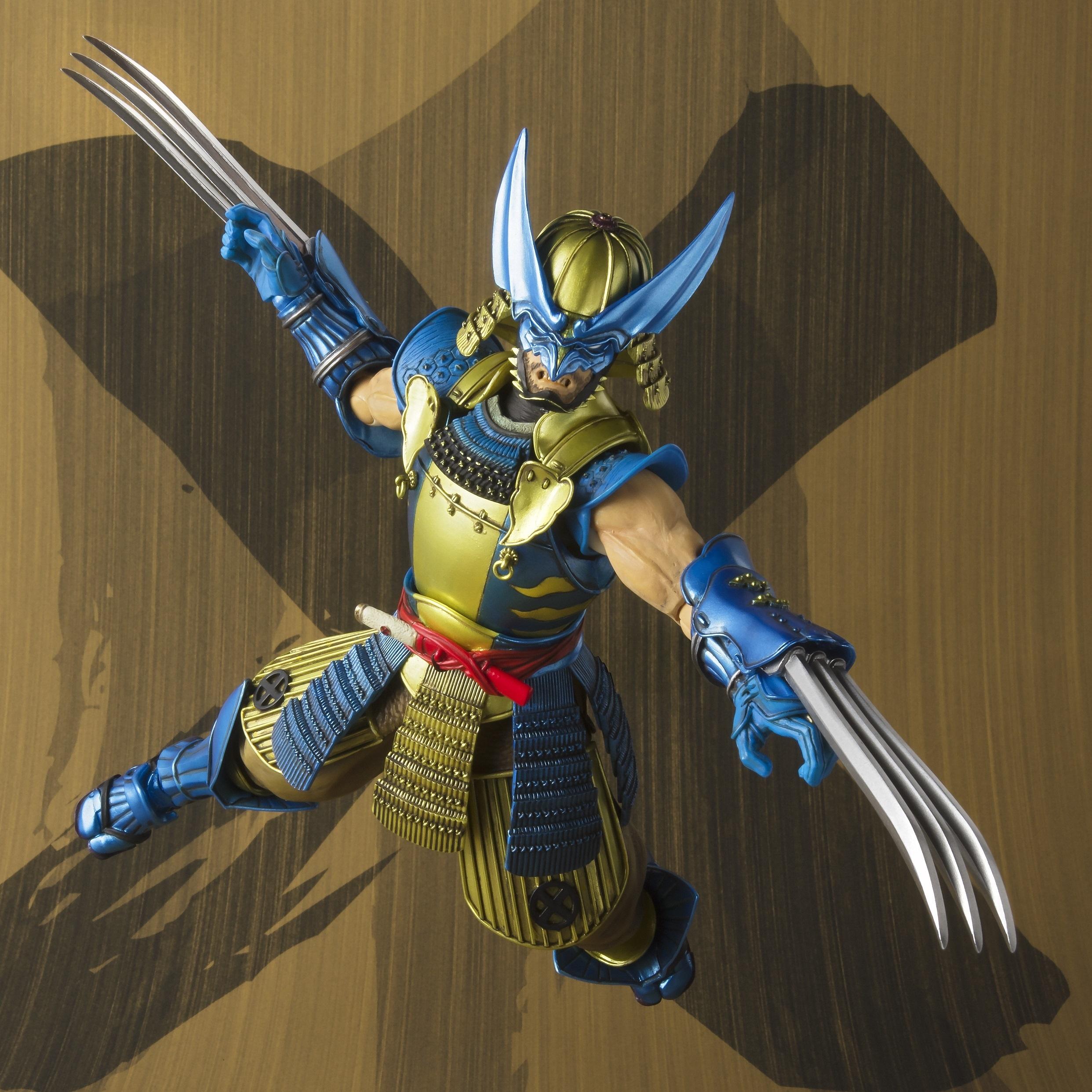 Muhomono Wolverine Marvel Bandai Meisho Manga Realization Figure (1)