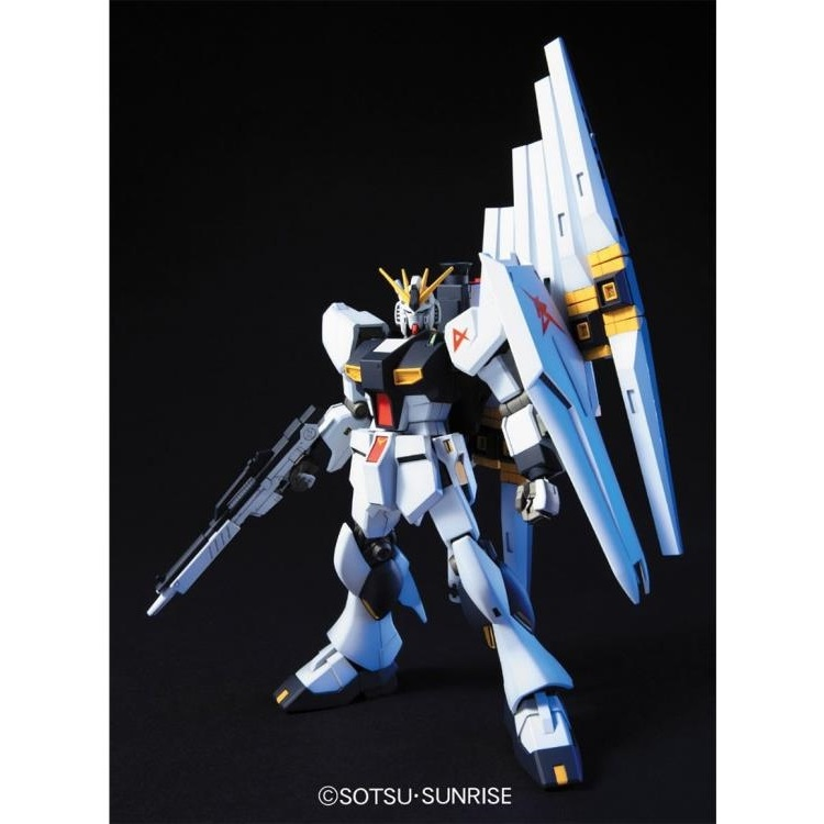 RX-93 Nu Gundam Char's Counterattack Gundam Build Divers RE Rise #86 HGBD 1144 Scale Model Kit (1)