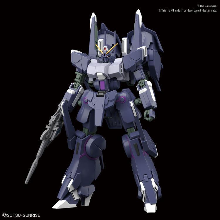 Silver Bullet Suppressor Gundam NT #225 HGUC 1144 Scale Model Kit (1)
