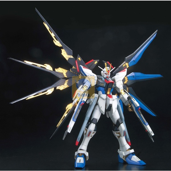 Strike Freedom Gundam (Full Burst Mode) Gundam SEED Destiny MG 1100 Scale Model Kit (1)