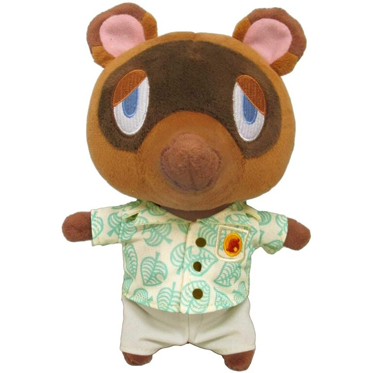 Tom Nook (New Horizons) Official Animal Crossing Plush (1)
