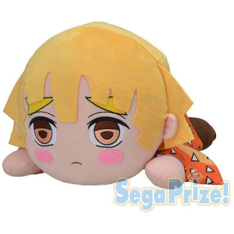 Zenitsu Agatsuma Jumbo Nesoberi Sega Plush (1)
