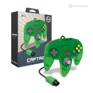 """Captain"" N64 Wired Controller (Lime Green)"