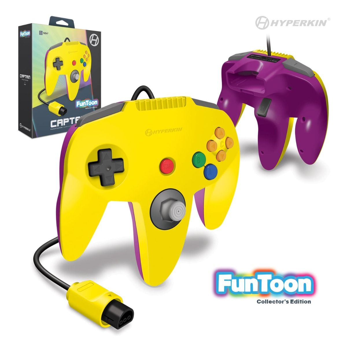 Champion N64 Controller Rival Yellow (1)