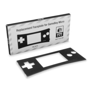 Faceplate for Game Boy Micro (Black)