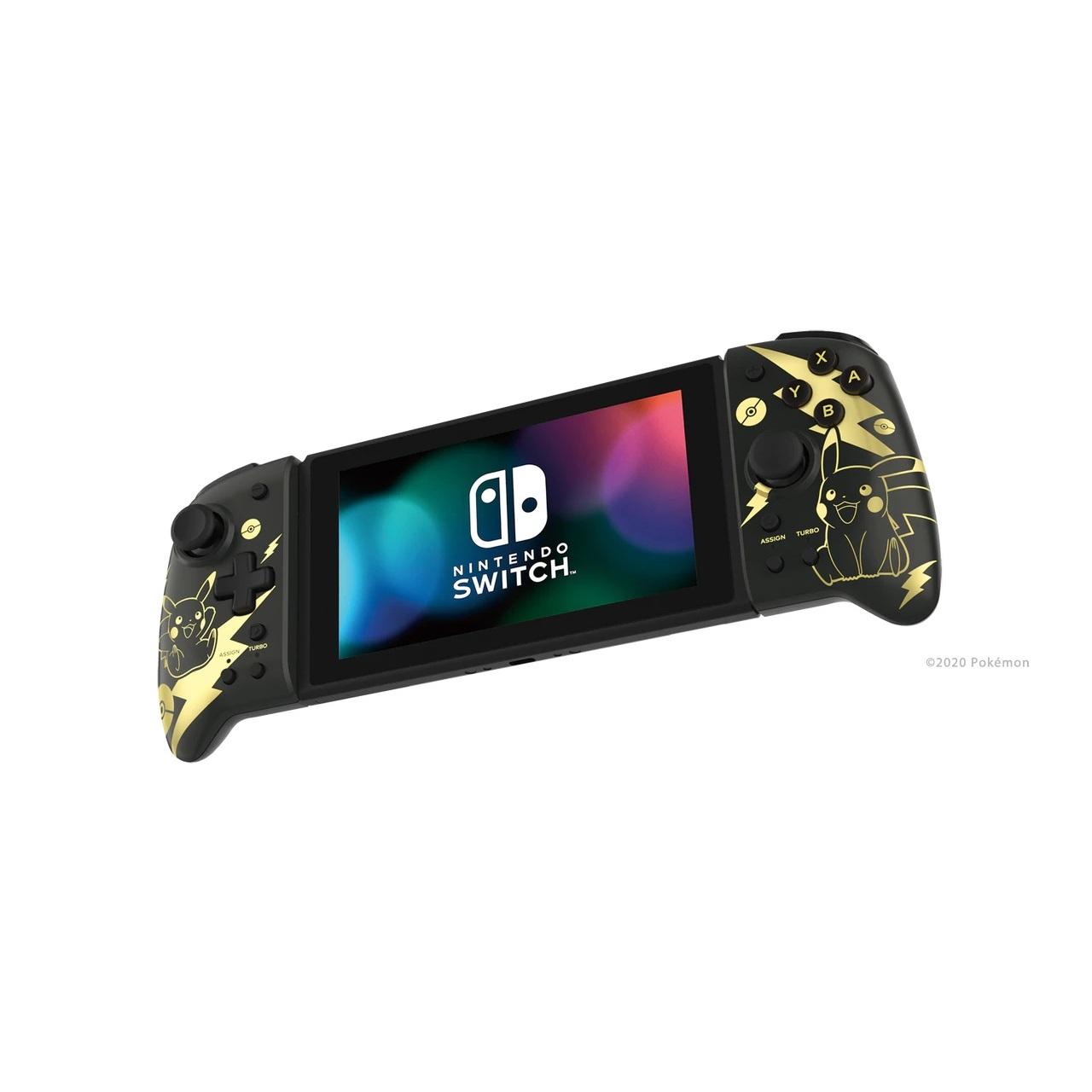 Hori Split Pad Pro Pikachu Black Gold (1)