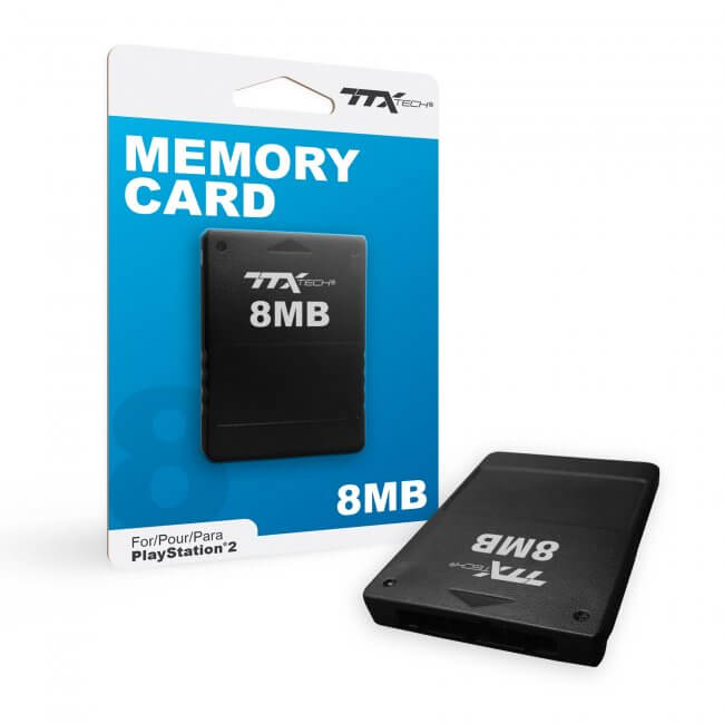 PS2 Memory Card 8MB TTX
