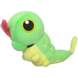 Caterpie Pokemon All Star Collection Plush