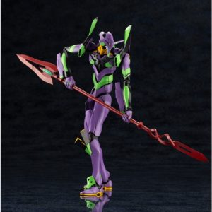 """Eva-01 with Spear of Cassius """"Evangelion: 3.0+1.0 Thrice Upon a Time"""" Figure"""